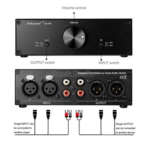 Image 5 - Douk Audio Fully Balanced Passive Preamplifier Pre Amp XLR/RCA Volume Controller