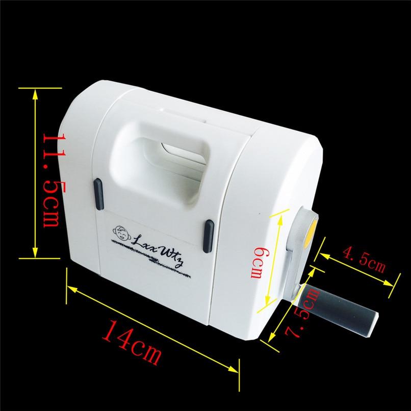 Nieuwe Gestanst Papier Snijmachine Scrapbooking Snijder Snijden Sterven Machine Voor Diy Groothandel Gratis Verzending 30RI28 - 6