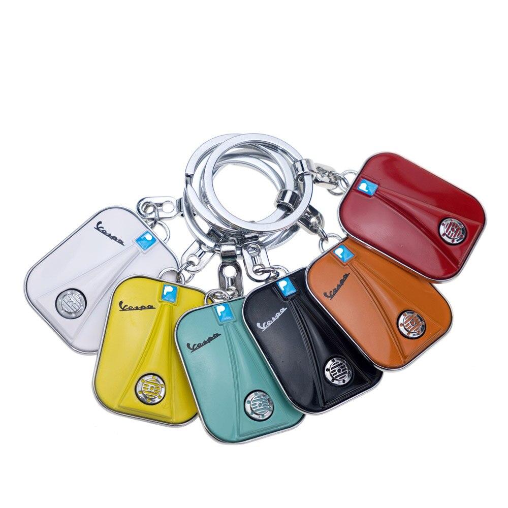 Keychain Schlüssel ring Für Piaggio GTS300 VESPA GTS GTV LX PX LT Sprint Primavera