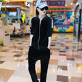 2 Piece Track Suit Casual Simple Suit Tide Spring Fashion Sweater Female Women Student Was Thin Casual