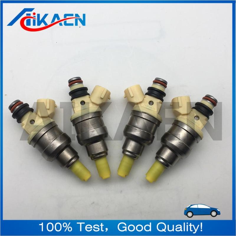 4pcs INP-470 Fuel Injector 15710-58B00 for Sidekick X-90 Suzuki 1992-1998