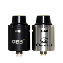 OBS Cheetah RDA Tank with Temperature Control Top-filling and Top Airflow Control E Cigarette Atomizer Vaporizer vape