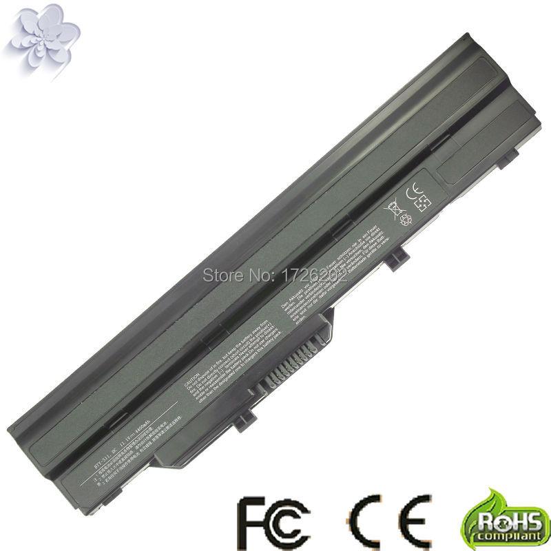 Laptop Battery BTY-S11 BTY-S12 For MSI WIND U90 U100 U110 U115 U120 U130 U135 U1
