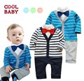 Bebe bebé niño moda de manga larga estilo 2015 nueva ropa de bebé niño raya traje ropa para niños sets Bebe juegos de ropa