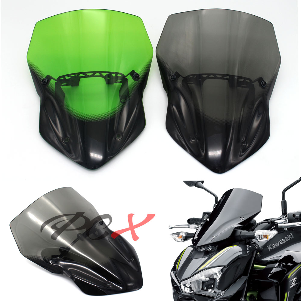 New high quality For KAWASAKI Z900 Z 900 2017 2018 2019 Motorcycle Accessories Windscreen Windshield