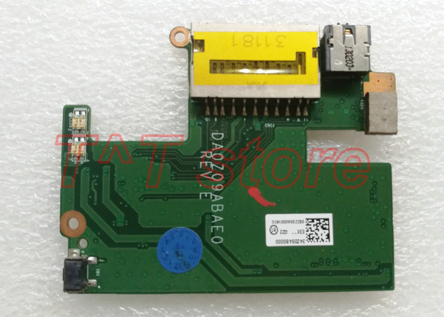 free shipping original For X483G M5 481P M5 481PT POWER BUTTON AUDIO JACK CARD READER BOARD 34Z09AB0000 DA0Z09ABAE0 test good