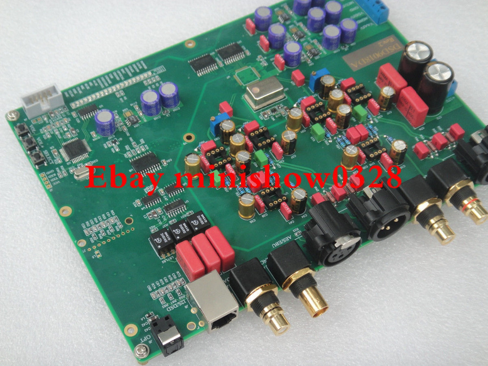 LKS ES9018 DAC decoder BNC AES OPT DSD PCB COA