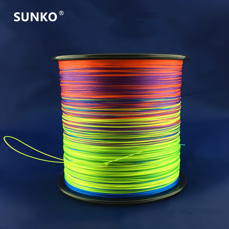 8strands-300m-sunko-brand-japanese-multifilament-pe-material-colorful-braided-font-b-fishing-b-font-line18-30-40-50-60-70-80-100-120-140-160lb