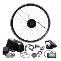 48V16A LG 1000W Ebike Brushless Hub Motor with LCD900 Electric bicycle 26 700C Tire Electric Bike E bike Conversion Kit