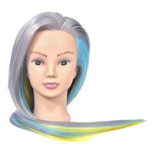 DIY Long Hair Mannequin Head H
