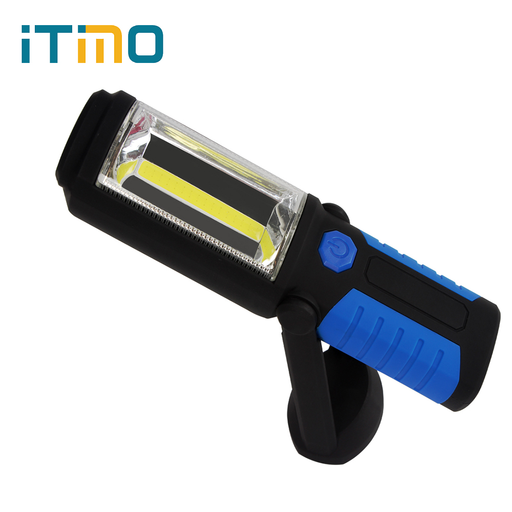 High Quality Portable LED Hook Light Outdoor Sport Magnetic Flashlight for Camping Fishing Hiking Magnet Work Lamp led hook light magnetic flashlight perfect torch work lamp with magnet and 2 light modes camping outdoor sport drop clh
