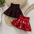 Los niños lindos del bebé del tutú Mini faldas 2015 nueva alta calidad del otoño y el invierno de lana niños faldas plisadas para las niñas saia infantil