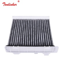 Car Air Conditioning Filter Fit Mitsubishi Old PAJERO II Model 1997 1999 PAJERO SUV Model 2002 Today Filter Car Accessoris