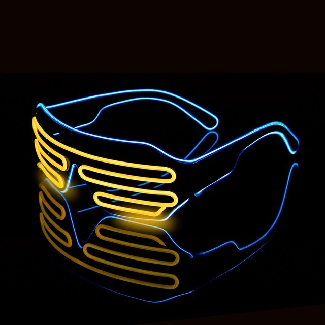 Stylish EDM LED Glasses  2