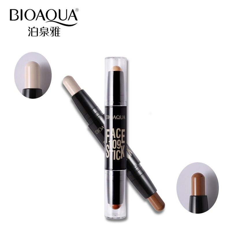 BIOAQUA Märke 2 I 1 Bronzer Highlighter Stick 3D Ansikts Makeup - Smink - Foto 2