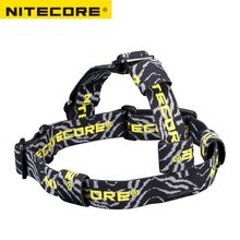Nitecore HB02 led head lamp light Elastic Nylon AA CR123A 18650 headlamp Flashlight Headlight Headband(China)
