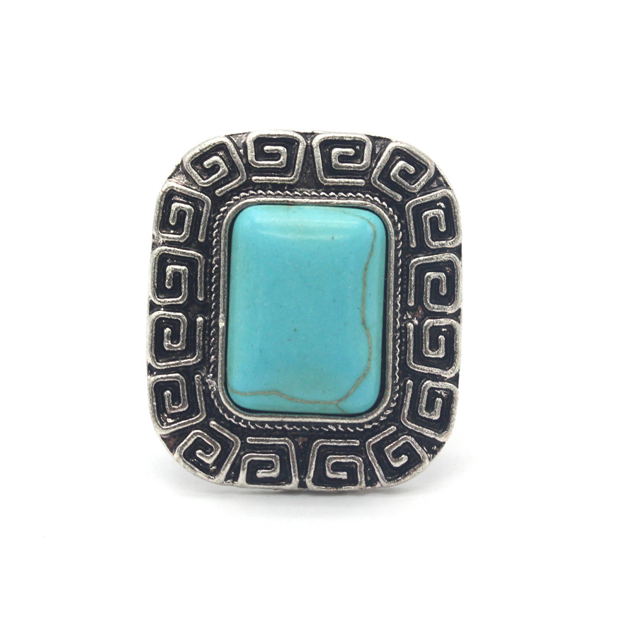 ahmed jewelry high quality vintage pattern square