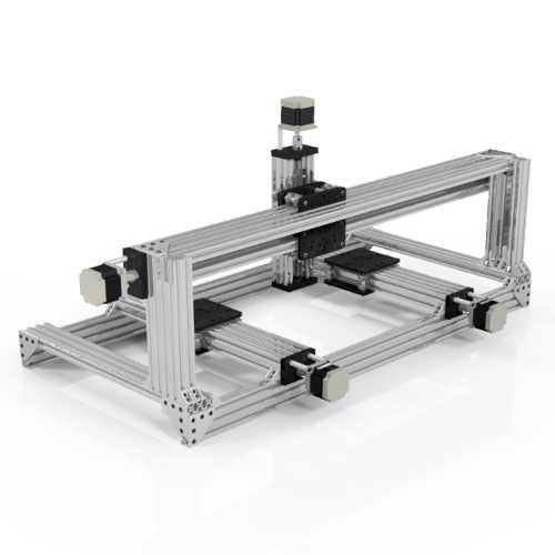 Livraison gratuite 4 axes c-beam Machine CNC XL Kit bricolage c-beam Machine grand faisceau kit avec couple élevé 2.45N.m Nema23 moteurs pas à pas