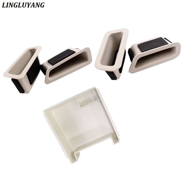 car accessories for Volvo xc60 s60 v60 modified car door handle storage box armrest box 2010-2017 5pcs