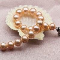 Вечная Свадебная Для женщин подарок Слово стерлингового серебра 925 Настоящее Jasmine Jewelry женский пресноводный жемчуг браслет подлинной почти