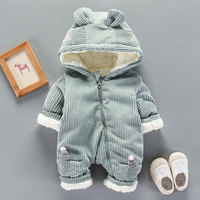 Cold Winter Baby Girls boys clothing rompers Set for Newborn infant Baby Girls boys suit Thicken Warm Cotton Jacket Clothes Sets