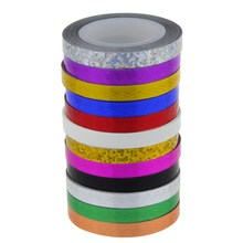 Plastic Nail Sticker Foil Beauty Women Nail Striping Tape Wave Nail Tips Decoration Accessories Para Manicura Styling Tool WY189