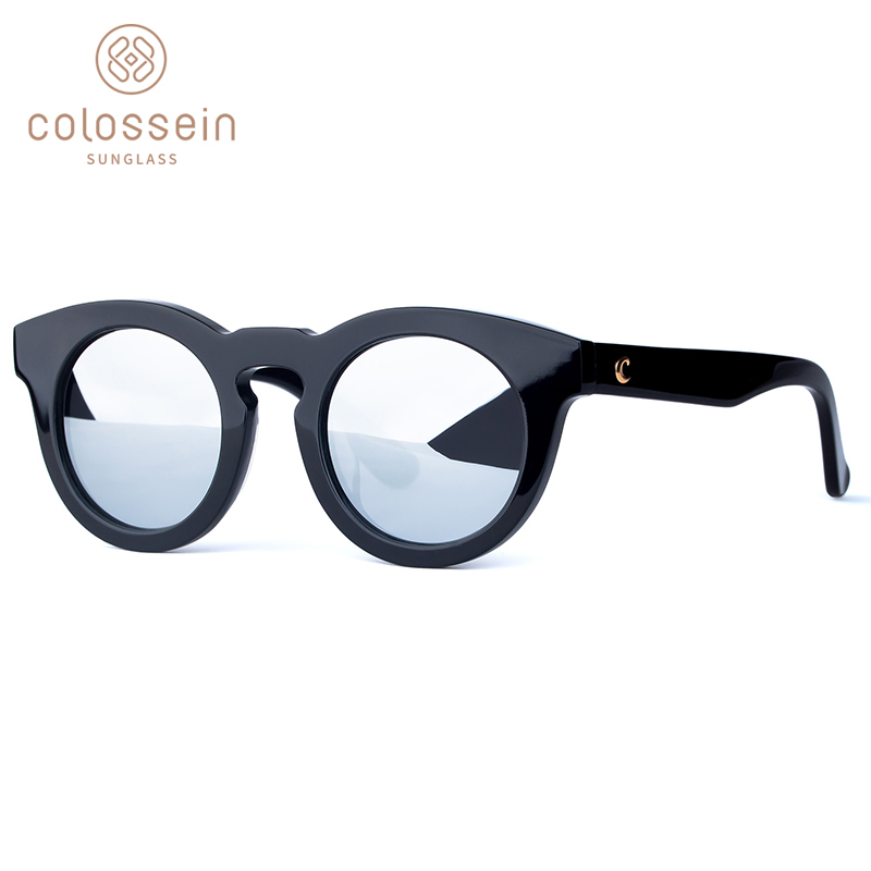 aa24038929 Aliexpress.com   Buy COLOSSEIN Polarized Sunglasses Women Fashion Sun  Glasses Men Classic Gradient Round Black Personality Driving Cool Eyewear  UV400 from ...