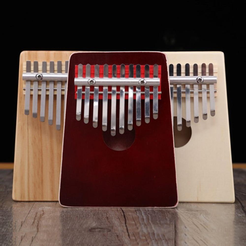 Teclas de Madeira Novo Chaves Kalimba Africano Mogno Sólido Acácia Polegar Dedo Piano Maciça Instrumento Musical 10 – 17