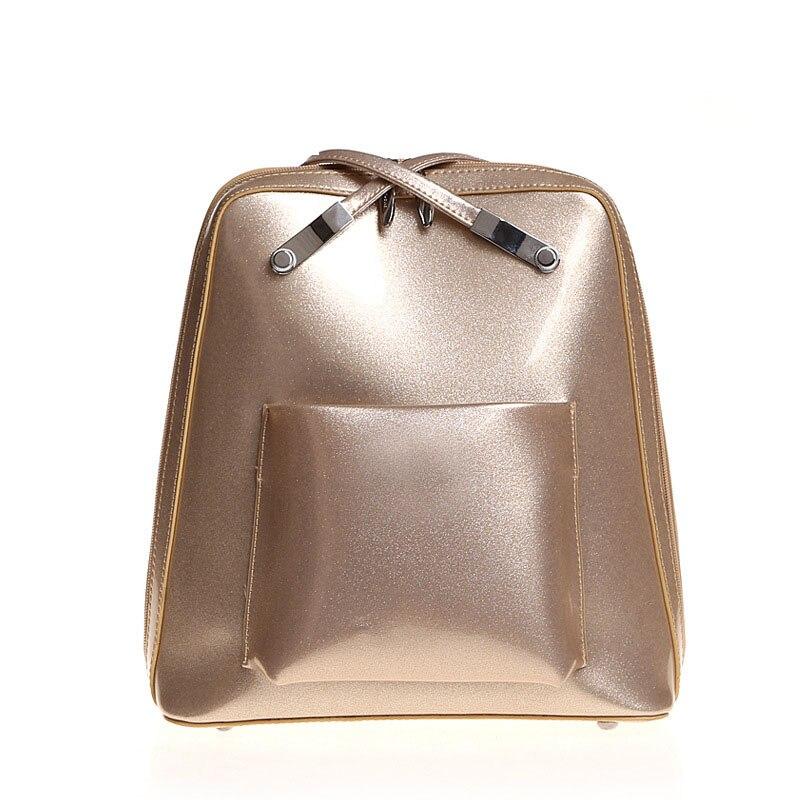 Femmes sac à dos nouveau multi-fonction une épaule Portable perle or dame sacs