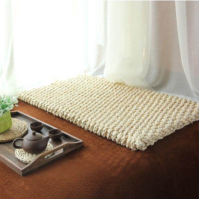 Futon Tatami modern corn husk meditation cushion straw bran futon cushion