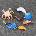 6pcs/set Finding Nemo 2 Finding Dory PVC Figure Dory Nemo Marlin Hank Bailey Mini Mdel Toy