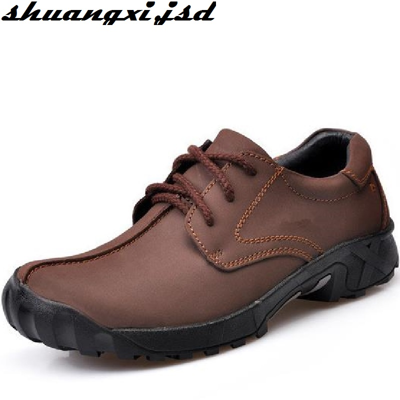 Men Shoes Male Genuine Leather F Man Loafers High Quality Genuine Leather Shoe Men Flats Driving Shoes high quality genuine leather men shoes lace up casual shoes handmade driving shoes flats loafers for men oxfords shoes