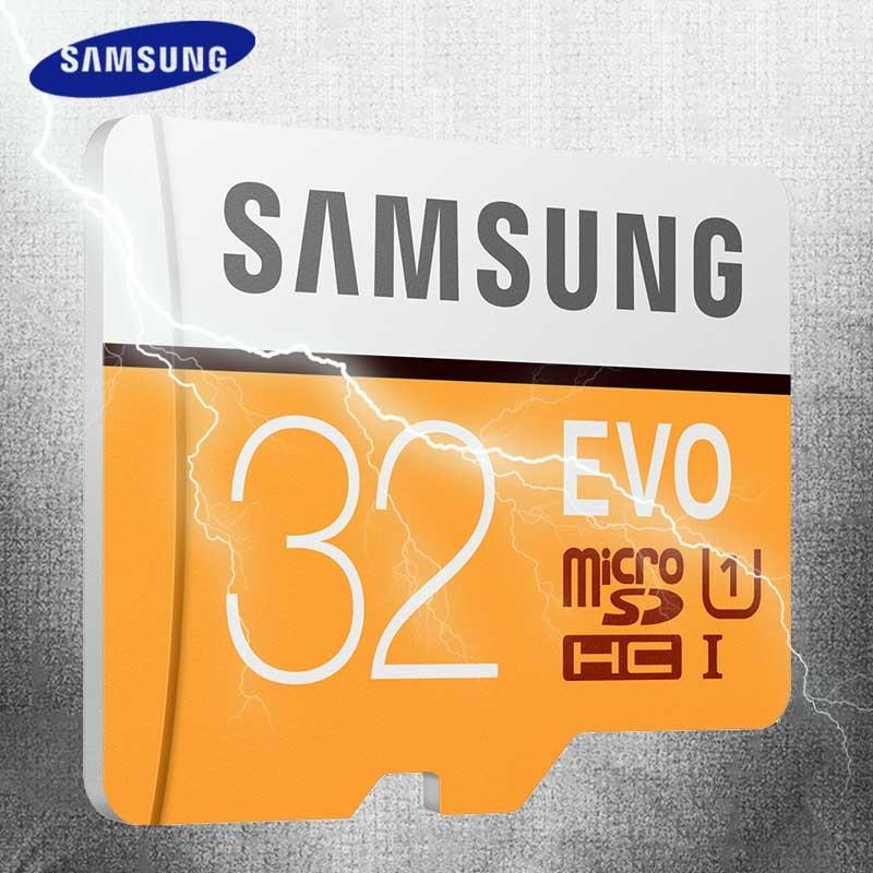 SAMSUNG Microsd <font><b>Card</b></font> 128GB 64GB <font><b>32GB</b></font> 16GB 8GB 256GB 100Mb/s Micro SD <font><b>Memory</b></font> <font><b>Card</b></font> Flash TF <font><b>Card</b></font> for <font><b>Phone</b></font> Class10 SDHC SDXC