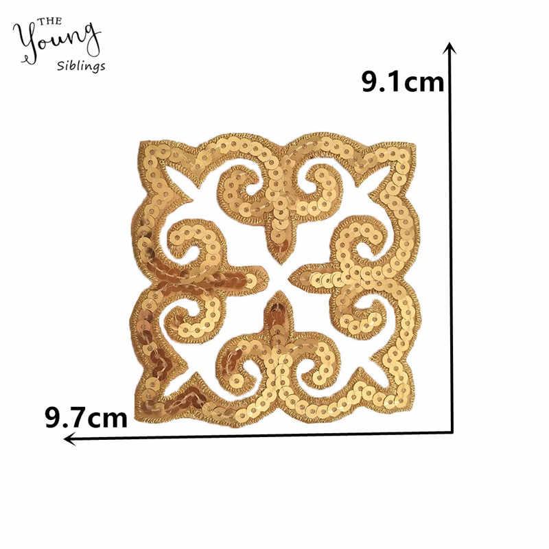 Модные блестки шитье Горячая отделка для приклеивания ткани вышивка железа на патч значки-наклейки DIY пошив одежды аксессуары C6757-C6772