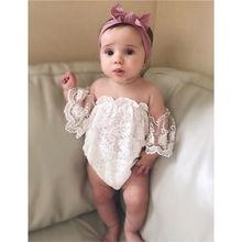 Г. Новинка, стильная одежда для маленьких девочек, весна-лето, белое однотонное платье принцессы с короткими рукавами, очаровательный боди маленький размер, от 0 до 24 месяцев