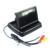 """Universal 4.3 """"Pantalla del monitor + cámara de visión trasera coche 4 IR partido juego para BMW 3/5 Seriesplastic shell material"""