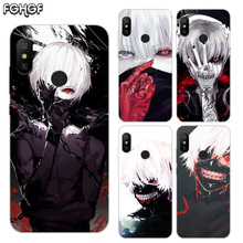 Printed Silicone Case For Xiaomi Xiomi Redmi 4 4A 4X 5 5A Plus 6 Pro 6A S2 Note 2 3 Heart Cover Tokyo Ghoul