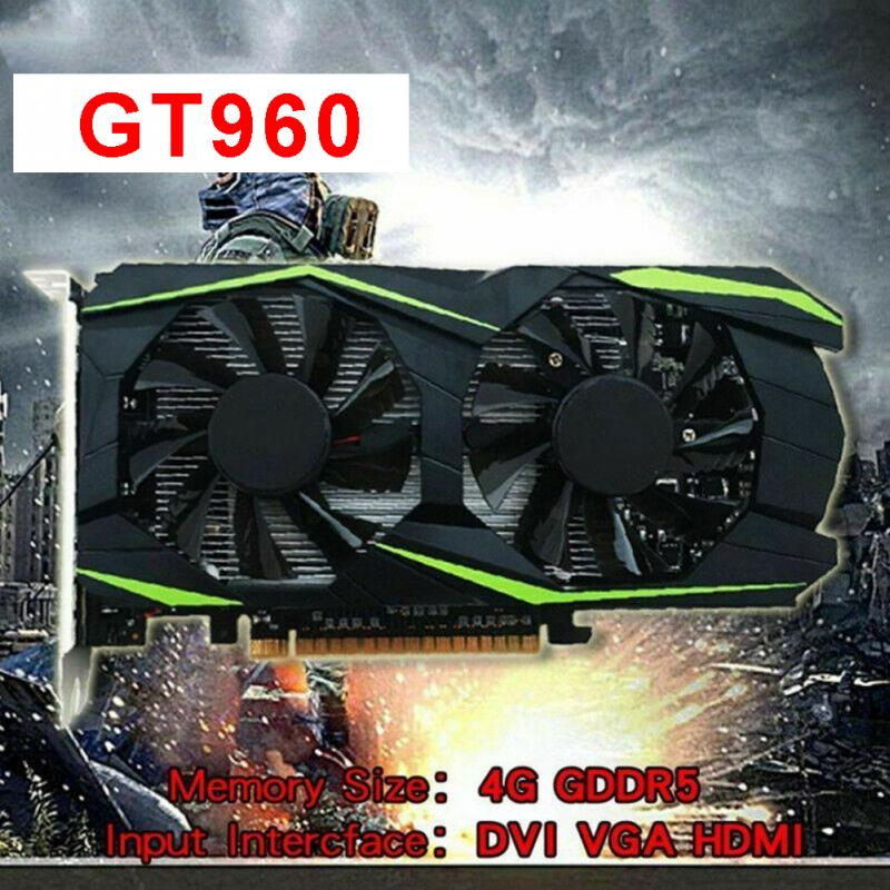 4GB Graphics Card Gaming Video HD Dual Fan Smooth GTX960 Safe PCI-Express Desktop GTX9604GB Graphics Card Gaming Video HD Dual Fan Smooth GTX960 Safe PCI-Express Desktop GTX960