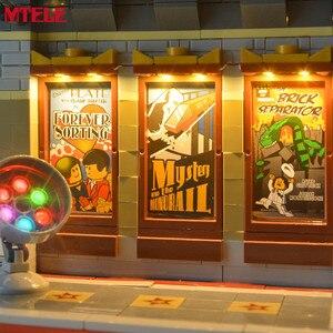 Image 4 - Брендовый светодиодный светильник MTELE, набор для уличного дворцового кинотеатра, светильник, совместимый с 10232 (модель не входит в комплект)