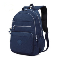 Casual 100% Original 2019 Bolsa Kiple School Backpack for Teenage Girl Mochila Escolar With Monkey Keychain Bags