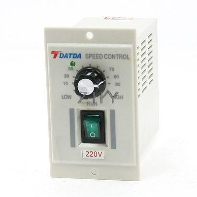 AC 220V Input DC 180V Output Green I/O 2-Position Switch Motor Speed Controller цена