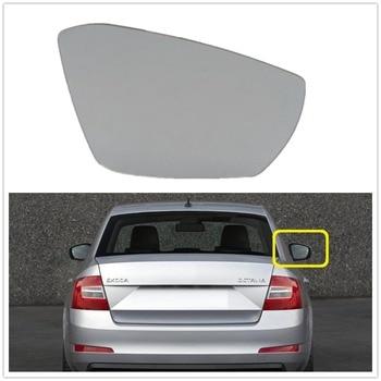 Right Side For VW Octavia A7 Mk3 (5E) Sedan & Combi 2013 2014 2015 2016 2017 Car-styling New Door Rear Mirror Glass Heated