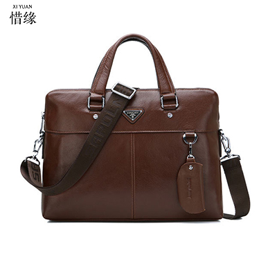 XIYUAN BRAND 2017 LUXURY fashion male Genuine Leather black Briefcase Shoulder Bags Man brown Messenger Cross Body bag Handbags xiyuan genuine leather handbag men messenger bags male briefcase handbags man laptop bags portfolio shoulder crossbody bag brown