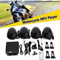Mofaner 12 В ЖК дисплей Мотоцикл ATV аудио Bluetooth 4 динамика + усилитель руль Системы для Мотоцикл ATV 1000 Вт