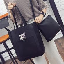 2017 mode Neue Handtaschen Qualität pu-leder Big Frauen tasche cartoon gedruckt cat umhängetasche retro große kapazität große weibliche tasche