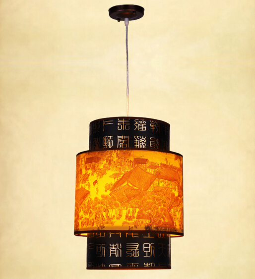 Chinese style Wooden pendant light single-head restaurant lights classical faux lamps balcony entranceway corridor light ZS80 classical chinese food industry restaurant bar cafe original wood single head pendant lights rmy 0247