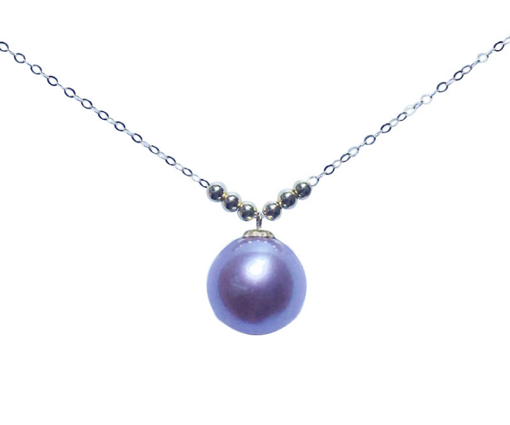 Genuine 100% Natural Freshwater Pearl Jewelry Hot Selling 18K Gold Pendant Necklace Gift For Women Famale Jewelry