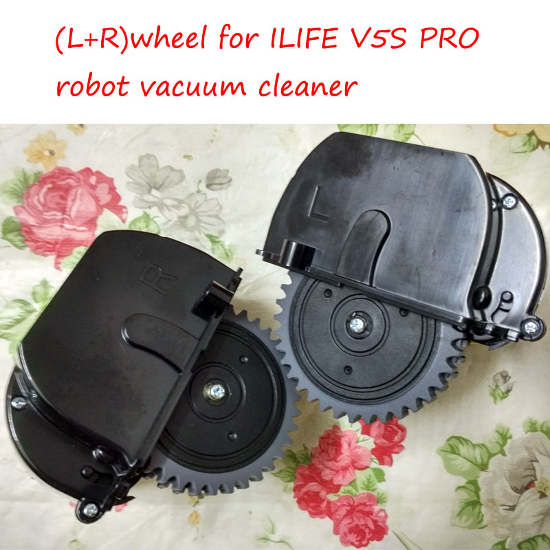 Original (Left+Right ) wheel for ILIFE V5S PRO robot vacuum cleaner Parts a320 left wheel robot vacuum cleaner spare parts