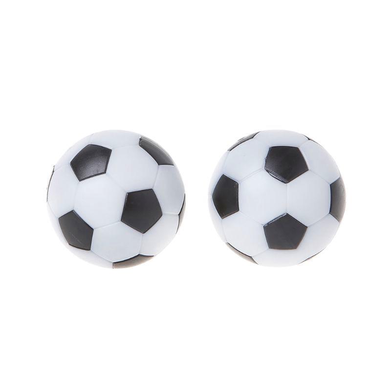 2 Pcs Foosball Table Football Plastic Soccer Ball Football Fussball Soccerball Sport Gifts Round Indoor Games 32mm/36mm