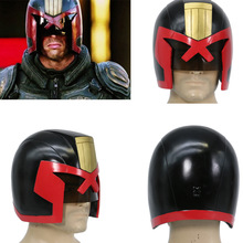XCOSER Judge Dredd Helmet Penuh Kepala Dredd COSplay Racing Mask Halloween Prop